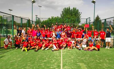 40 parejas en la décima edición del Pádel Templarios del Club Tenis Urgell