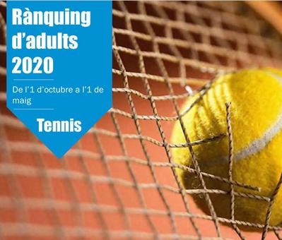Inscripciones abiertas para los Campeonatos Sociales 2019 y para los Rankings de Adultos 2020