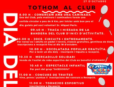 Guía completa de actividades del Día del Socio en el Urgell