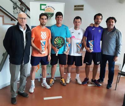 Peirón Iirigaray, campeones de la prueba del circuito bronce de pádel