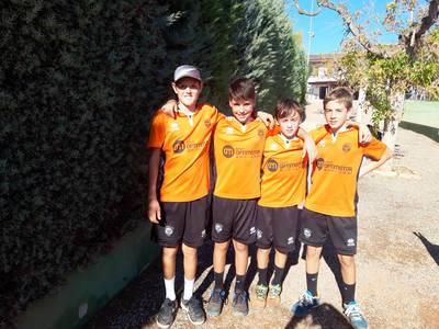 Buen inicio del infantil masculino del CT Urgell en la Liga Comarcal