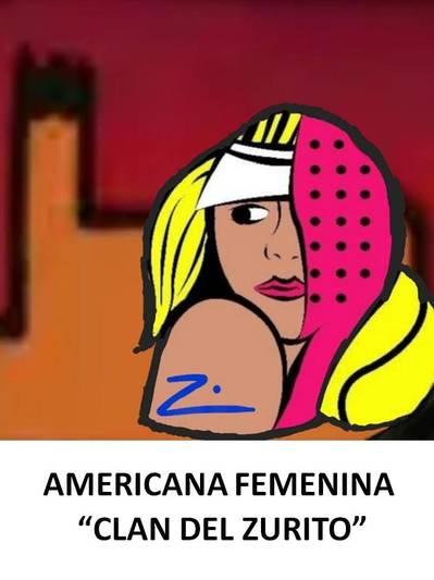 "Americana femenina ""Clan del Zurito"""