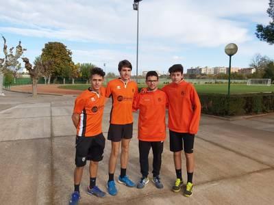 Claro triunfo del equipo junior masculino en las pistas del Sícoris en la Liga Catalana