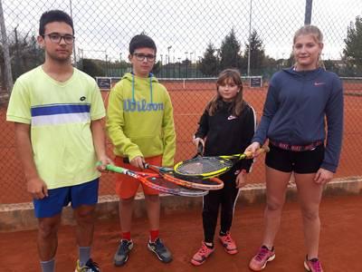 Doce representantes del CT Urgell, en el Masters de la Copa Catalana en Lleida
