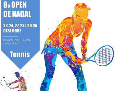Suspendido el Open de Navidad de tenis del CT Urgell