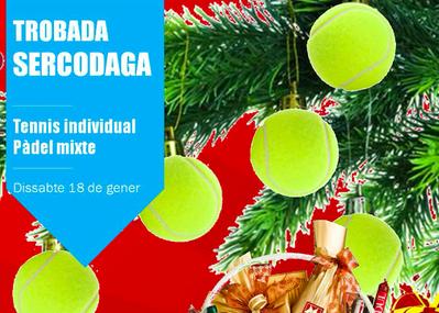 El sábado 18 de enero, nueva fecha para el Encuentro de Tenis y Pádel Sercodaga