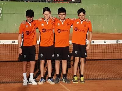 Victoria clara del equipo infantil masculino sobre el CT Mollerussa en la Liga Catalana