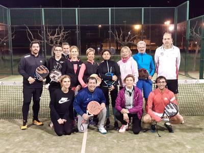 Una cincuentena de participantes en el Encuentro de Tenis y Pádel Sercodaga