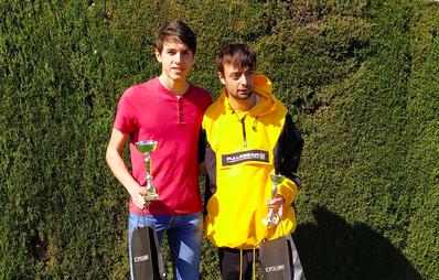 Óscar Traid, campeón del cuadro de consolación absoluto del Prat Llongueras