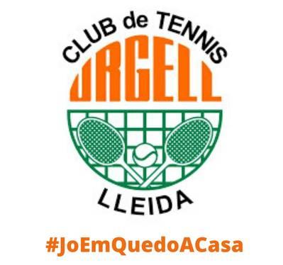El Club Tenis Urgell se une al reto #yomequedoencasa de la RFET