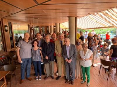 Jubilación de Paqui Bonilla, recepcionista del CT Urgell durante los últimos treinta años