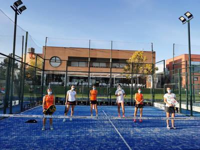 El equipo A gana el Provincial Femenino de Pádel por sexto año consecutivo