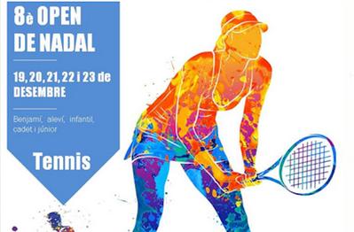El Open de Navidad de Tenis, del 19 al 23 de diciembre en las pistas del CT Urgell