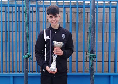 Nilo Jiménez, subcampeón cadete en el Circuito Juvenil Abiertos del CN Lleida