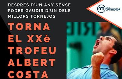 Trofeo Albert Costa, llegamos a las veinte ediciones!