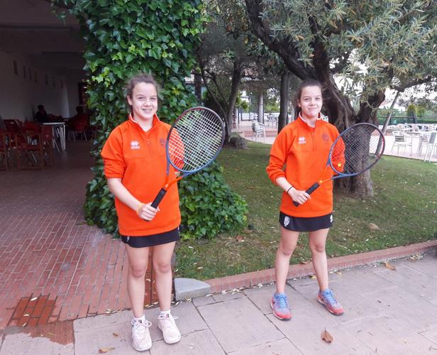 Carla y María Asensio, protagonistas con un duelo directo en el Trofeo Aniversario