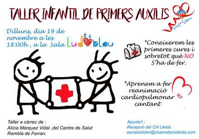 TALLER INFANTIL PRIMERS AUXILIS