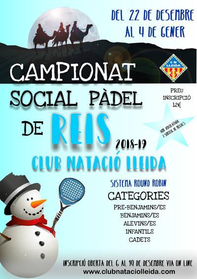 Campeonato Social Pádel de Reyes