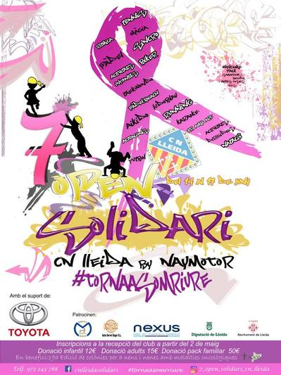 7 OPEN SOLIDARIO 2018