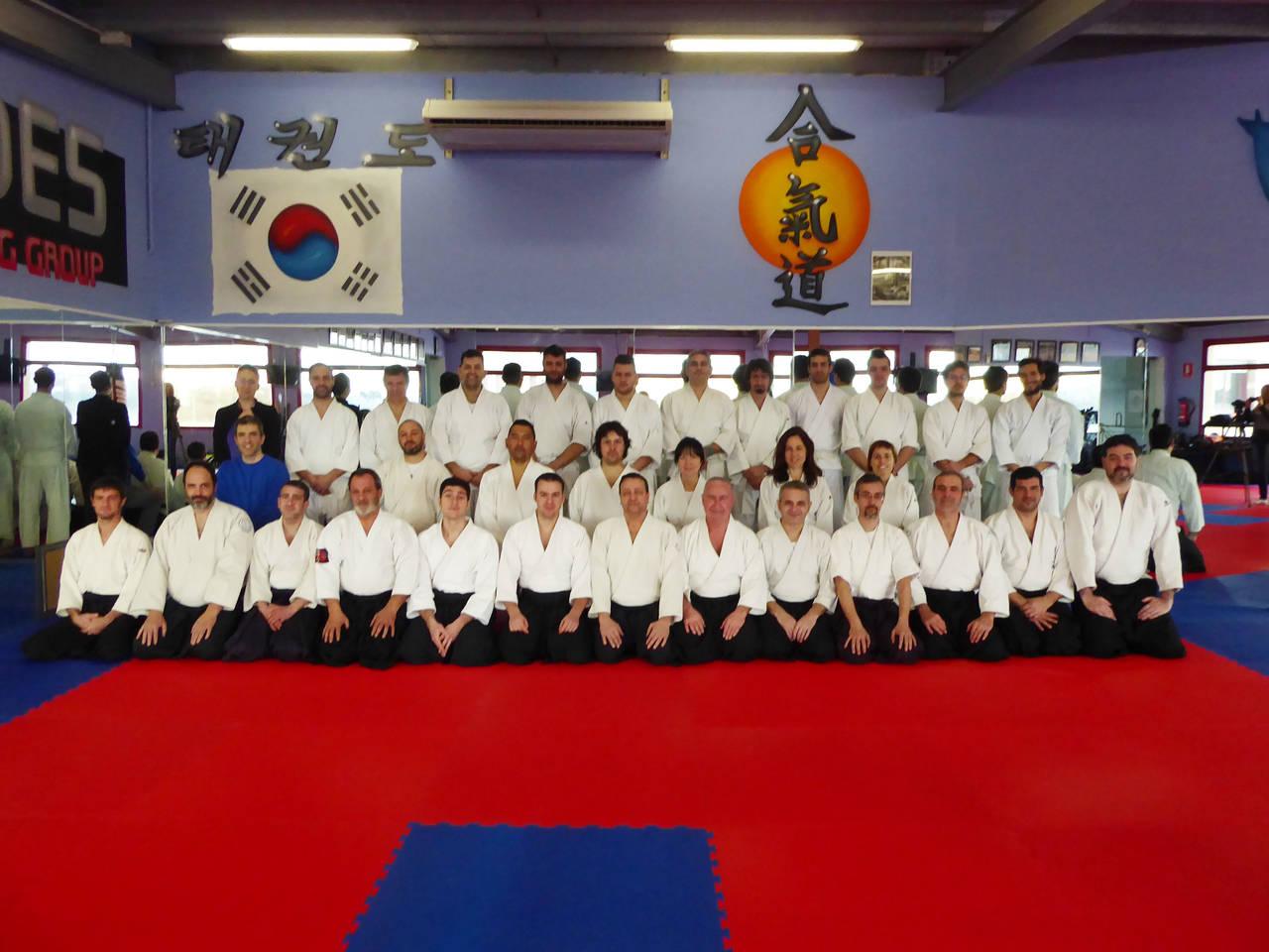 Jornada d'Aikido al Club Natació Lleida