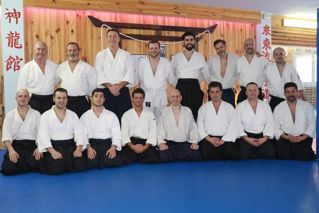Jornada de Aikido en el dojo Shinryu-kan