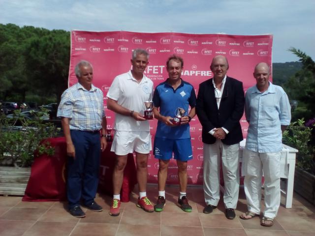 CAMPIONAT D'ESPANYA VETERANS INDIVIDUAL I DOBLES 2017
