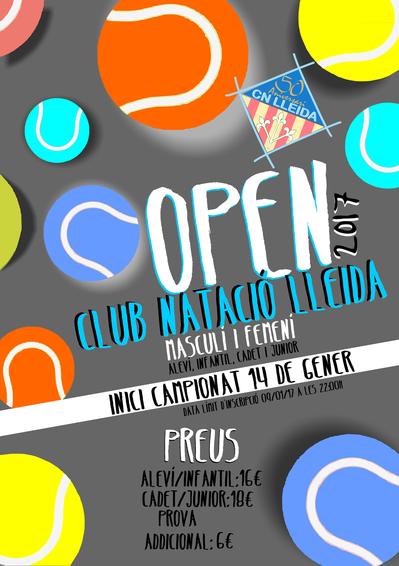 OPEN CN LLEIDA 2017