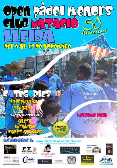 Open Pàdel Menors Club Natació Lleida