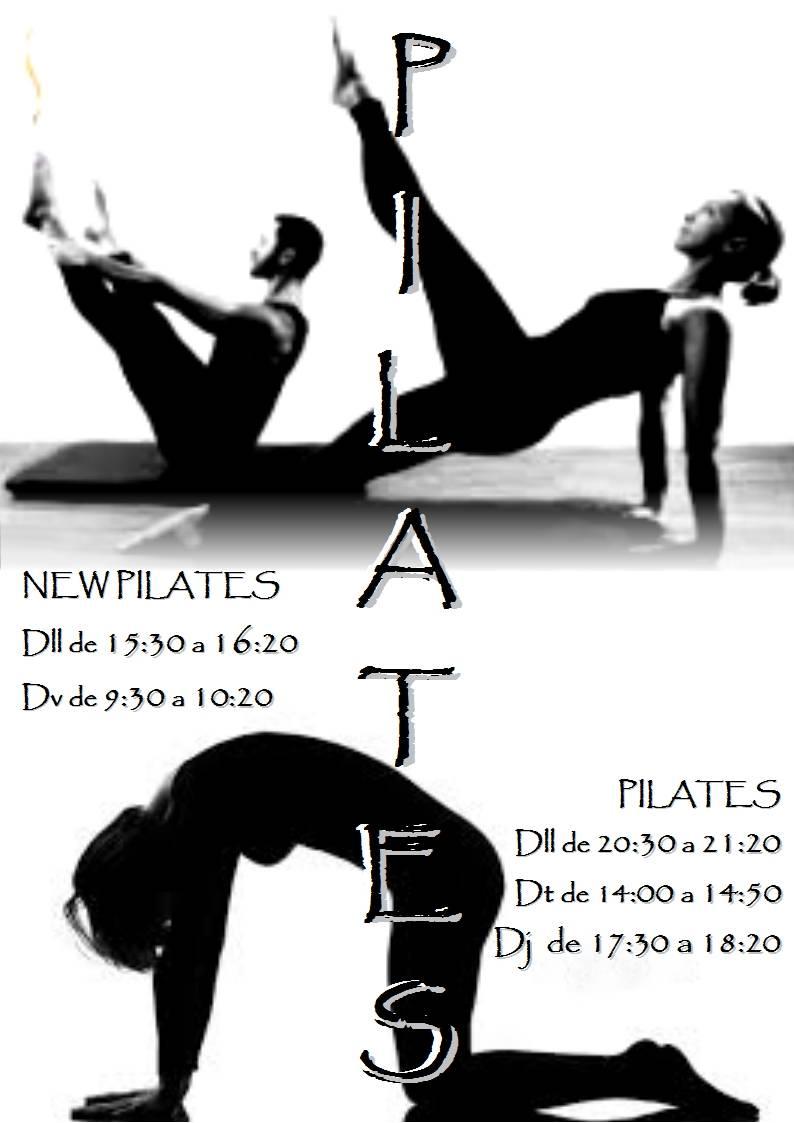 Horaris de Pilates i New Pilates