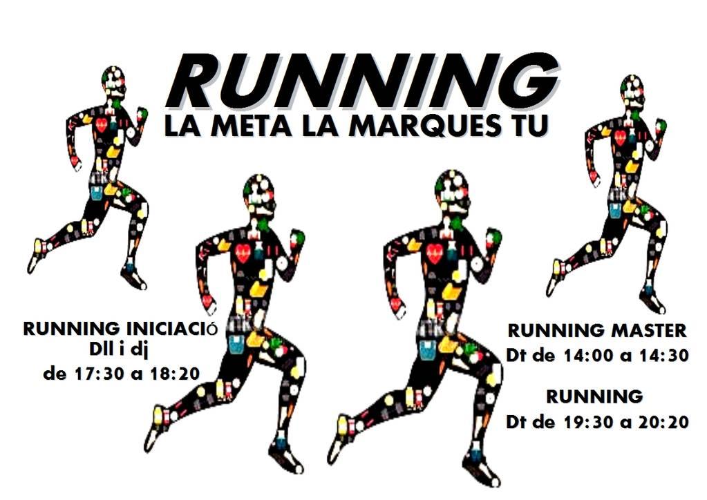 Running, la meta la marques tu!