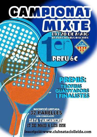 Campionat Mixte Club Natació Lleida