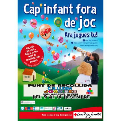 CAP INFANT FORA DE JOC. ARA JUGUES TU