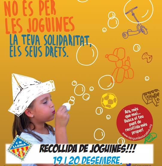 II RECOLLIDA DE JOGUINES a CN LLEIDA per a CREU ROJA  - CAP INFANT FORA DE JOC