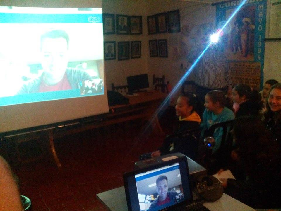 Videoconference on Astronomy with Australia