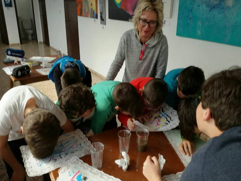 "Creative Abstract Painting workshop with Carmen Cantos ""Back"""