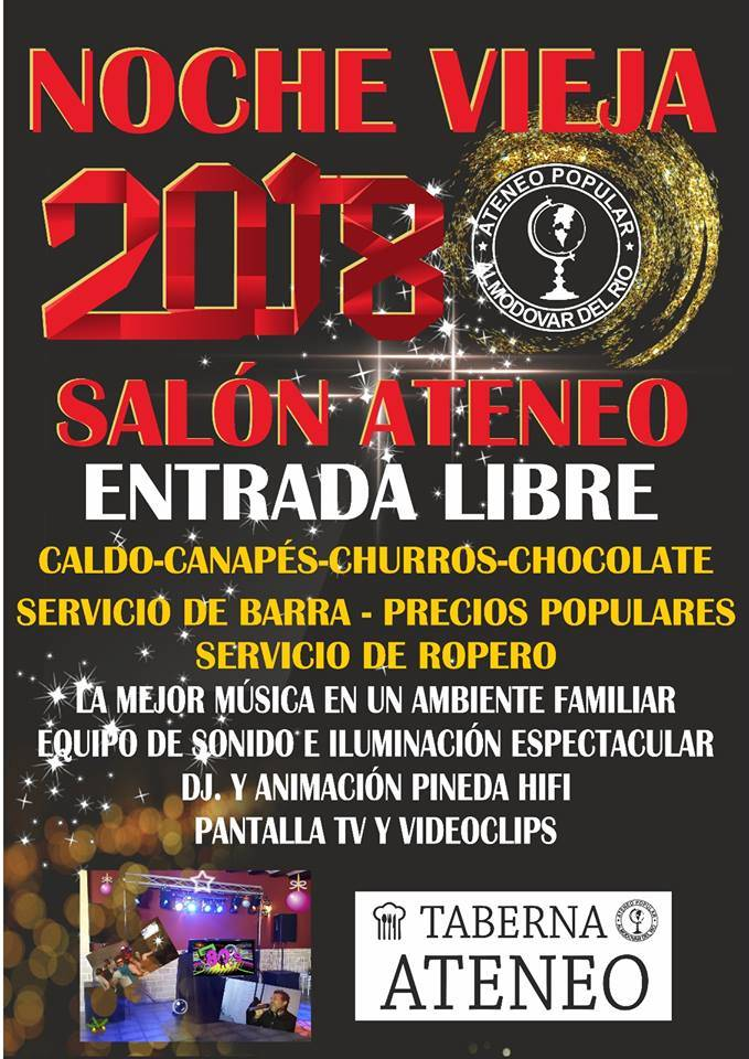 Fiesta NocheVieja 2017