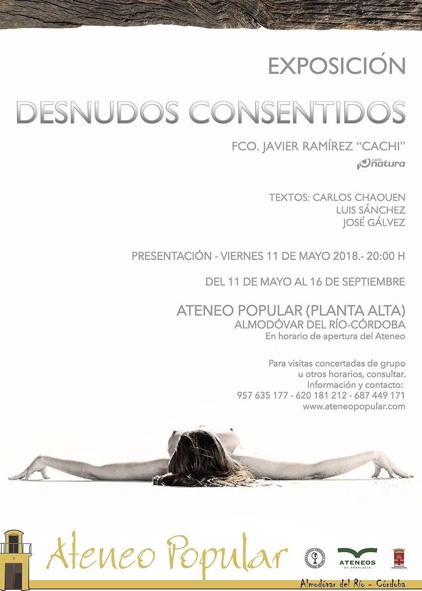 """Exposición Fotográfica """"Desnudos Consentidos"""""""