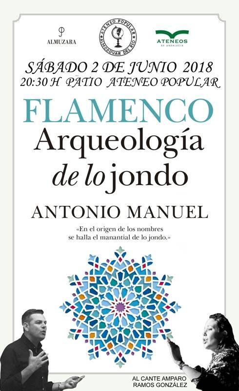 """Presentación del Libro """"Arqueología de lo Jondo"""""""