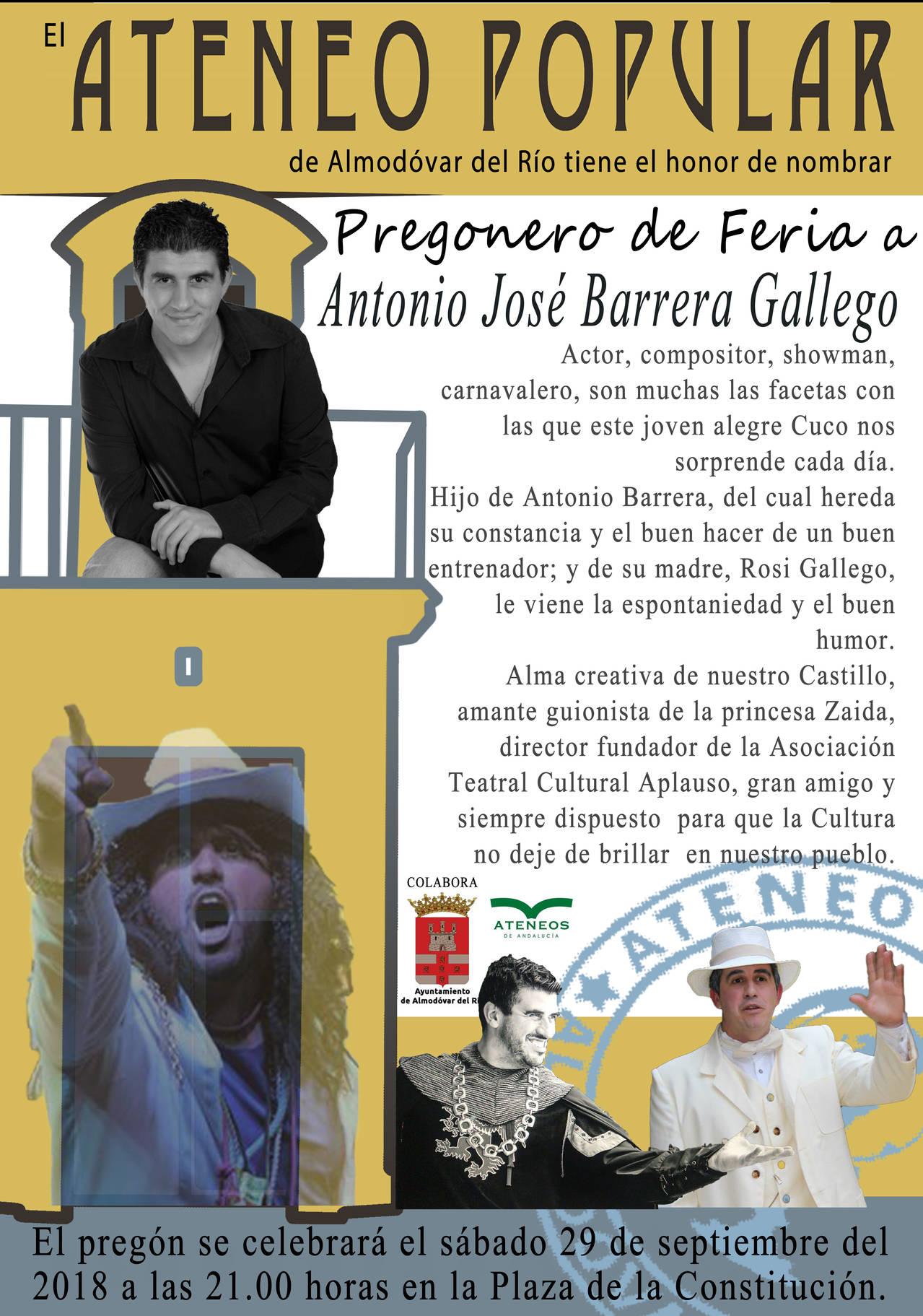 Pregón de Feria 2018
