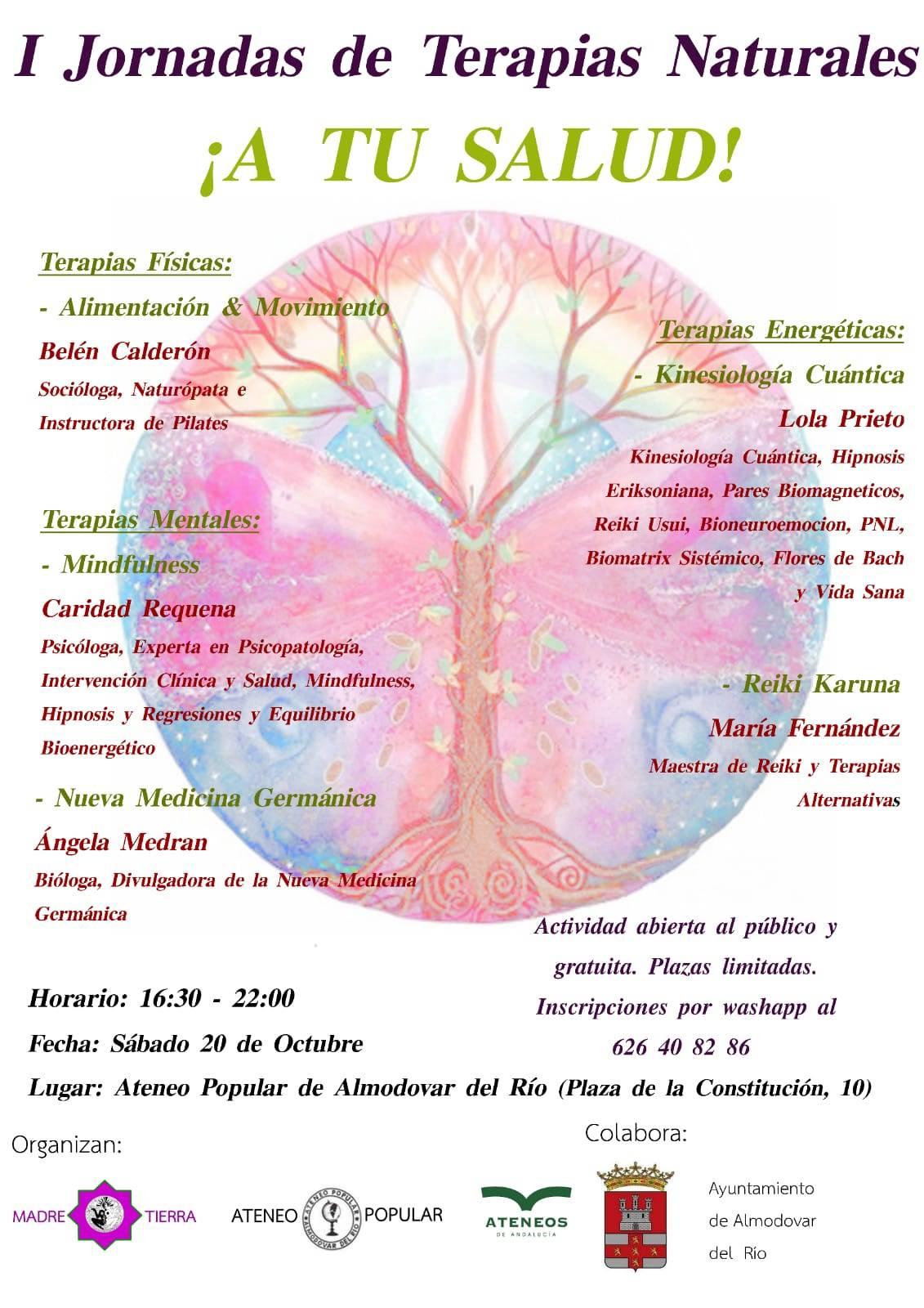 I Jornadas de Terapias Naturales