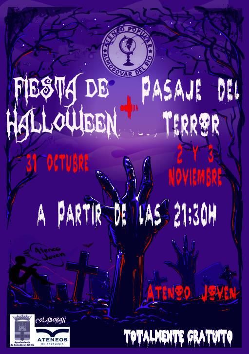 Fiesta de Haloween & Pasaje del Terror