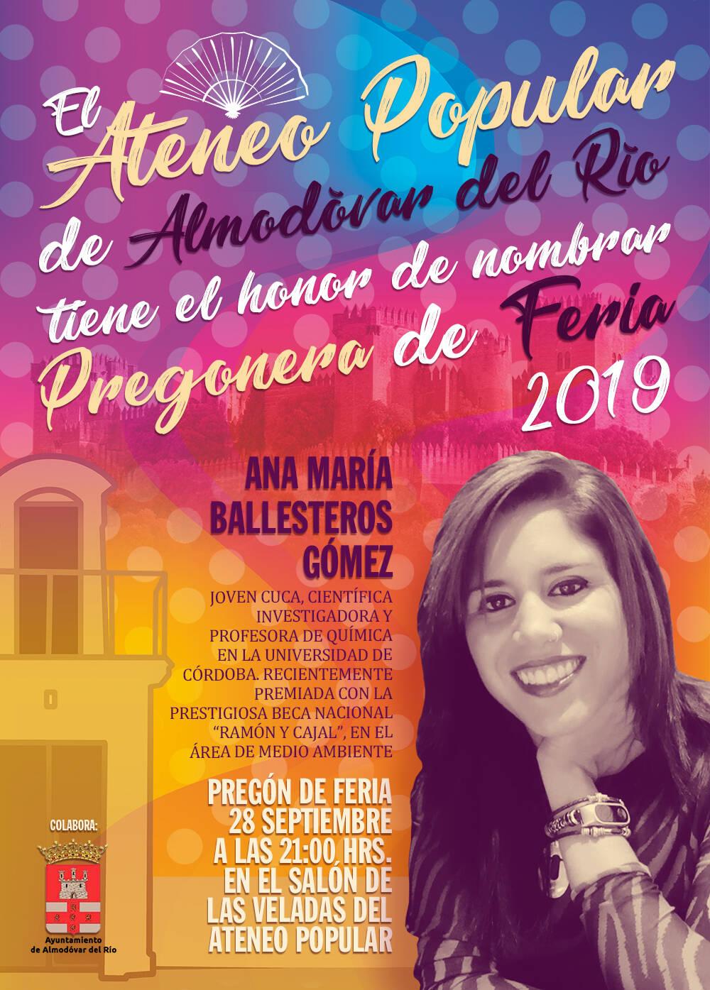 Pregón de Feria 2019