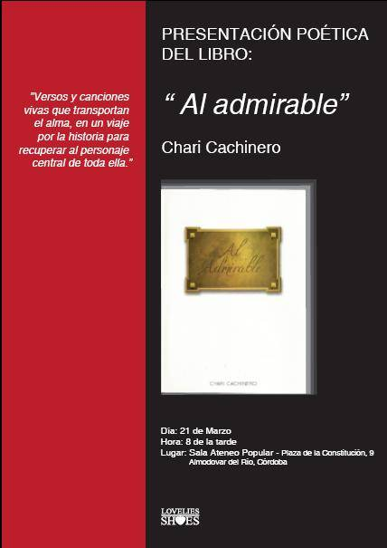 "Presentation of the book ""Al Admirable"""
