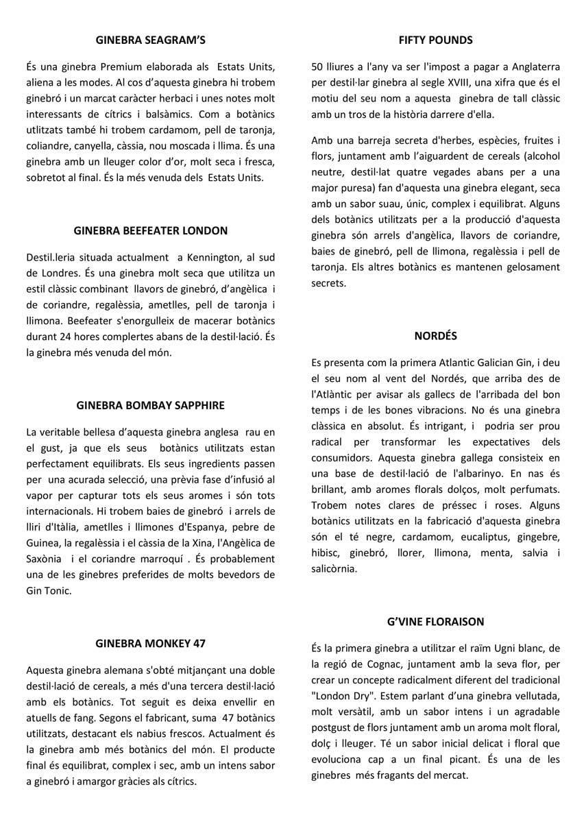 CARTA DE GINEBRES