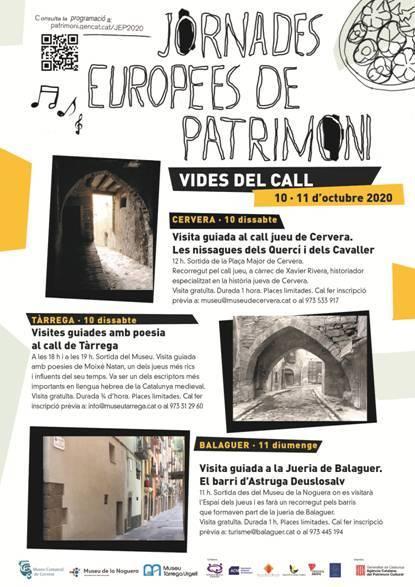 Jornades Europees del Patrimoni a Balaguer