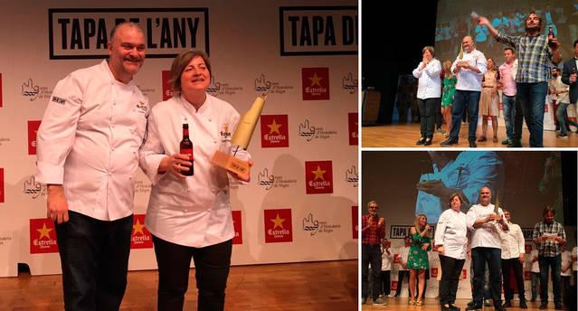 """El Tastet del Reng guanya el concurs """"Tapa de l'Any"""""""
