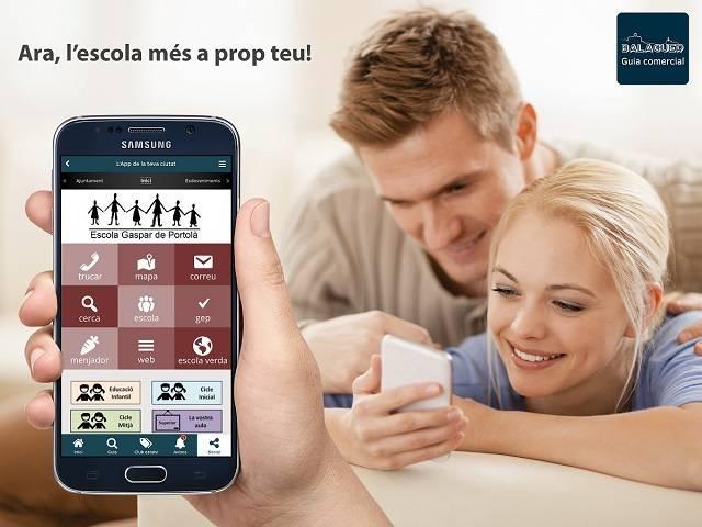 Vols rebre tota la informació de l'Escola Gaspar de Portolà al teu mòbil?