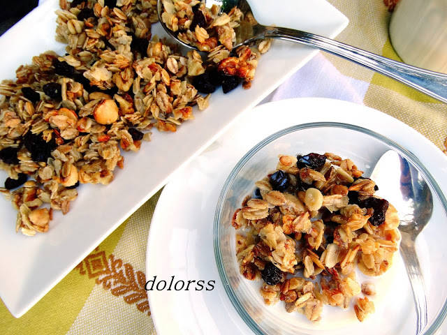 Muesli con frutos secos