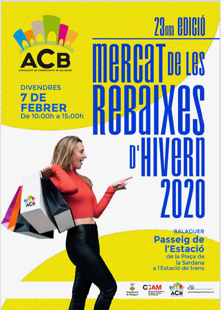 23ª Edición MERCAT DE LAS REBAJAS DE INVIERNO 2020