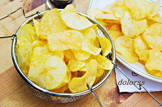 Patates de xurreria o patates xips